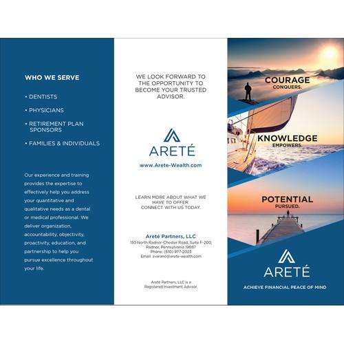 ARETE Trifold Brochure