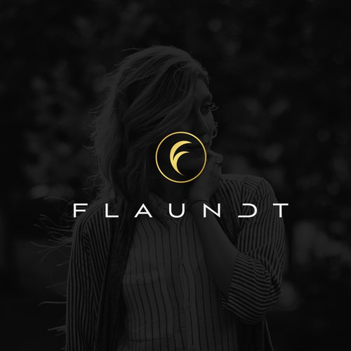 Clean Logo Design for Flaundt