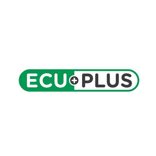 Bold Logo Concept for EcuPlus