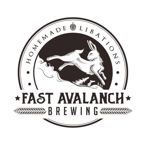 Logo for brewing.