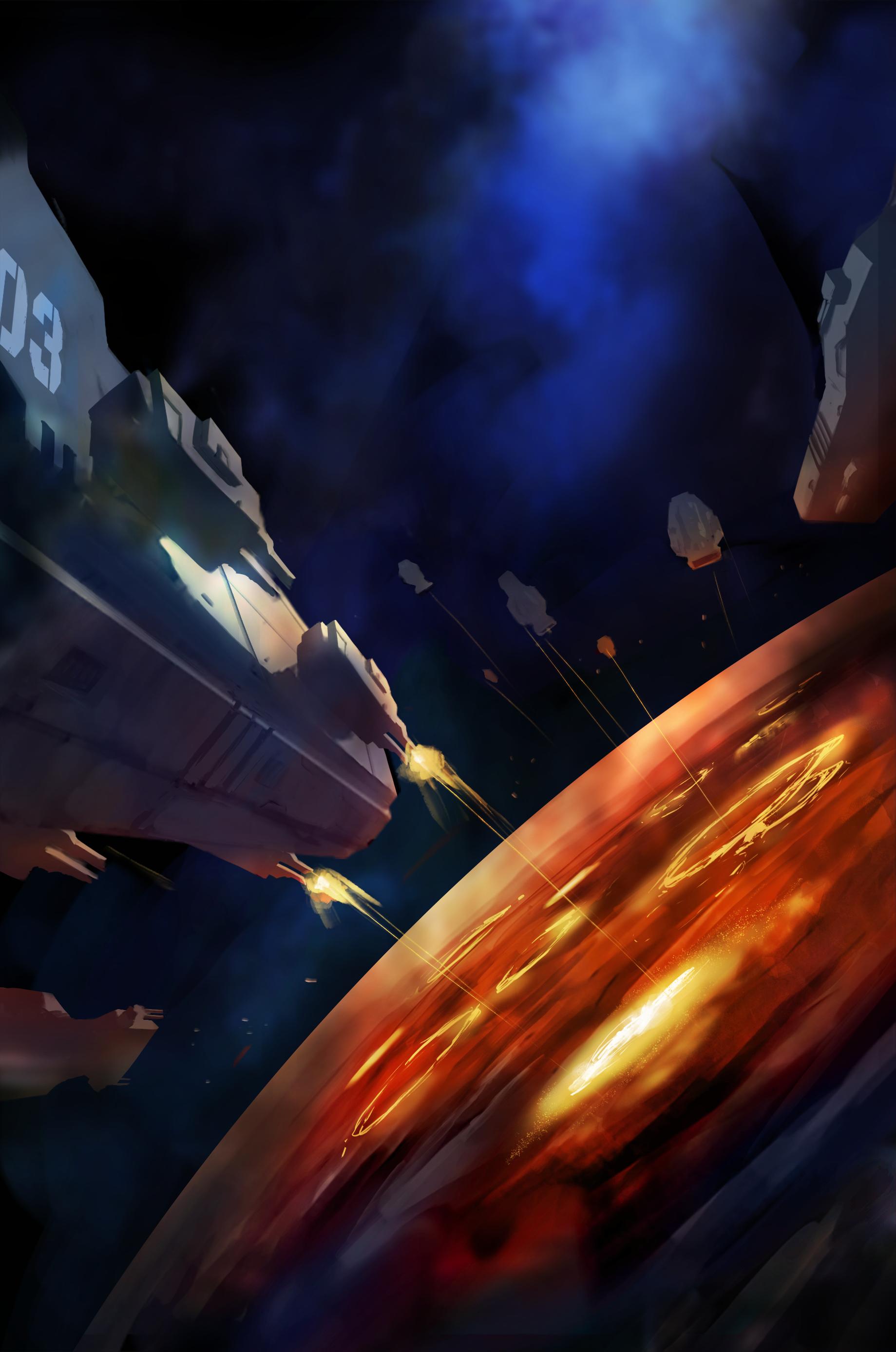 Earth Fleet Annihilation series (4 to 6 books)