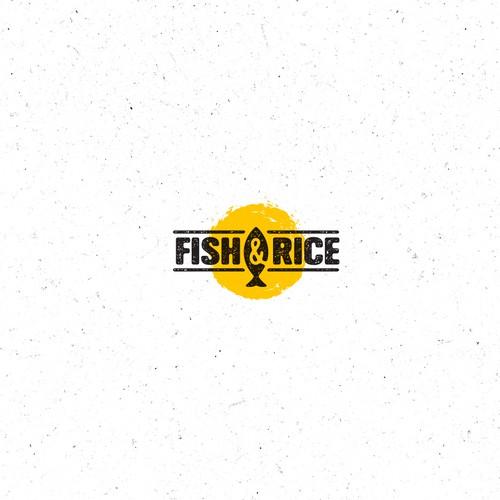 Hip Food Place logo Concept