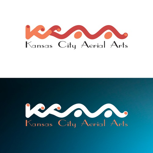 KCAA - Kansas City Aerial Arts - Logo Contest