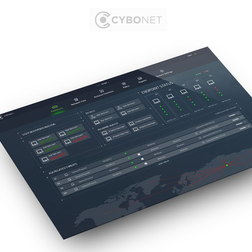 Dashboard design for CYBONET