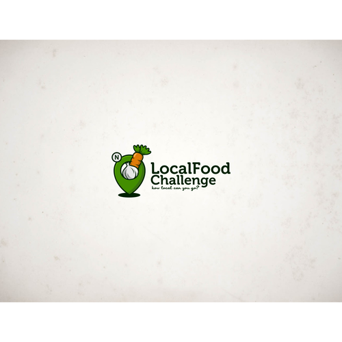 Fresh and Friendly Localista Foodie Logo
