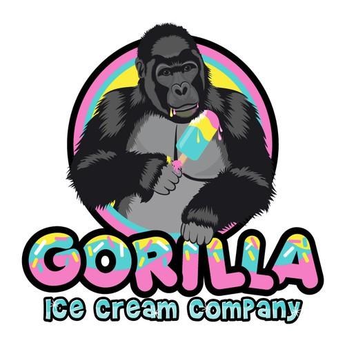 Ice Cream Company Logo