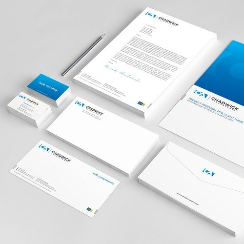 Design Chadwick Accountants stationery