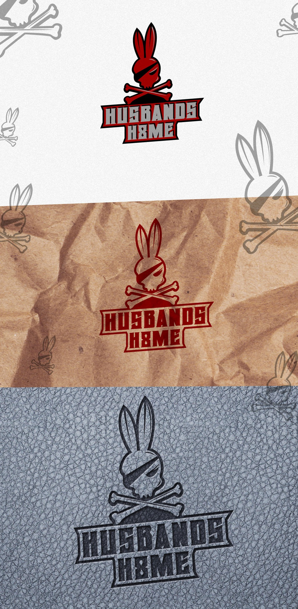 HUSBANDS HATE ME / HUSBANDS H8ME / HH8ME  with a new logo