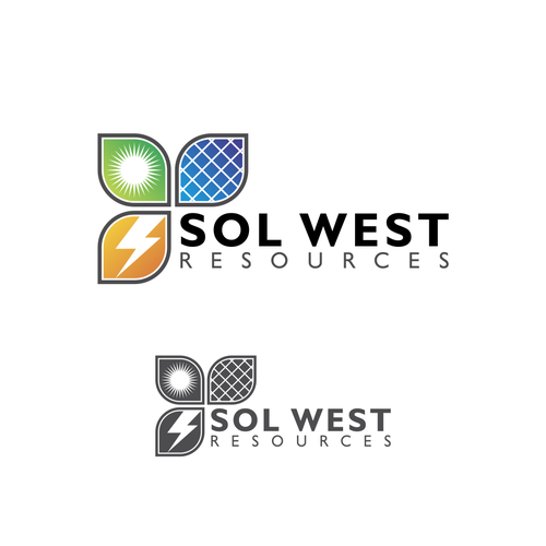 "Logo for ""SOL WEST POWER"""