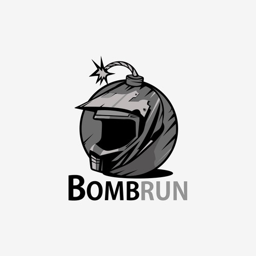 logo concept for Bombrun