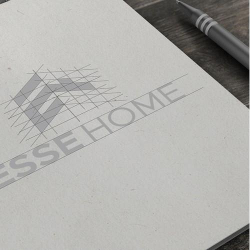 ESSE HOME logo design