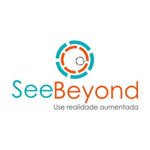 Design de logotipo SeeBeyond - Realidade Aumentada