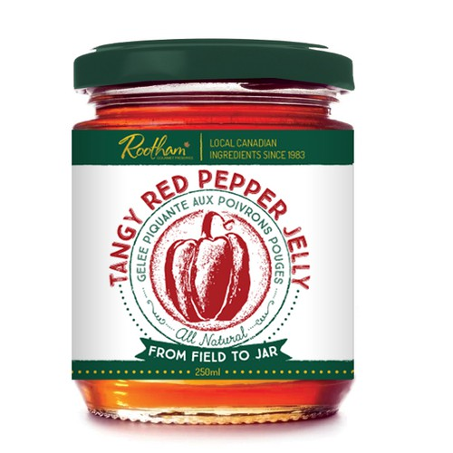 label for pepper jelly