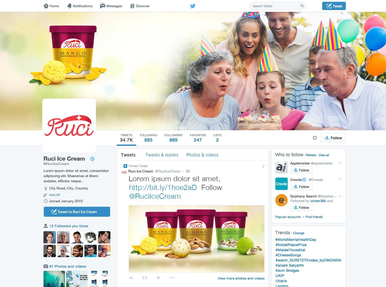 Ruci Ice Cream - Stationery