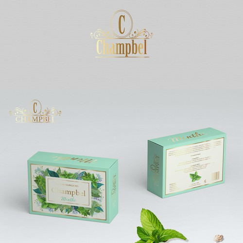 Packaging concept for Champbel soaps