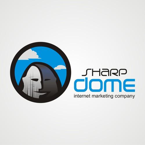 Marketing company logo.