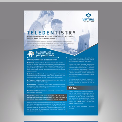 Dentist Brochure Design