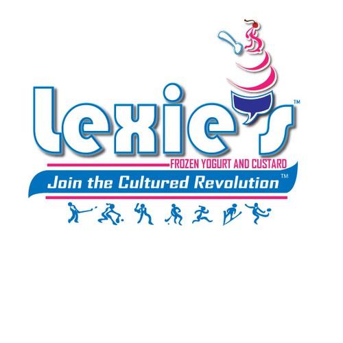 Lexie's Frozen Yogurt and Custard Logo