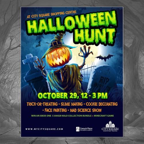 Halloween Hunt poster