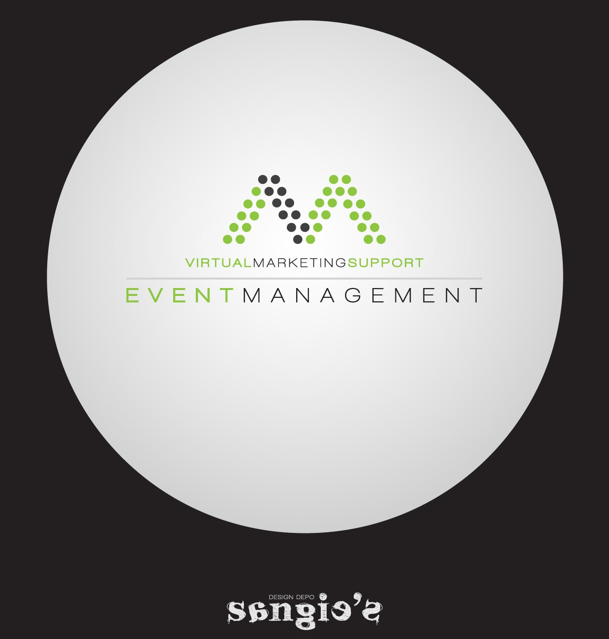 Create a new logo for an event management company