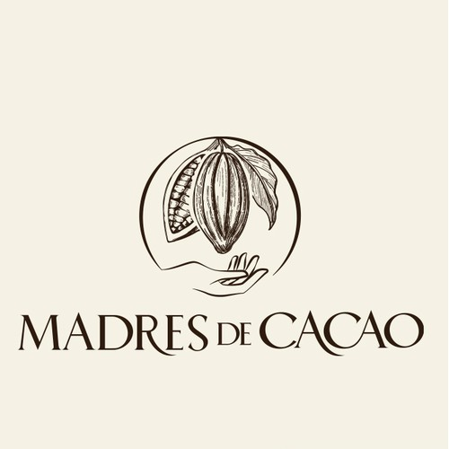 Logo design for a new brand of organic chocolate