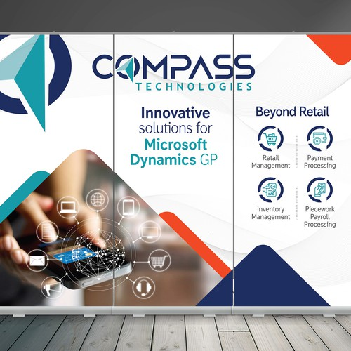 Compass Technologies Booth Design