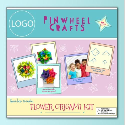 Packaging design for origami kit/2