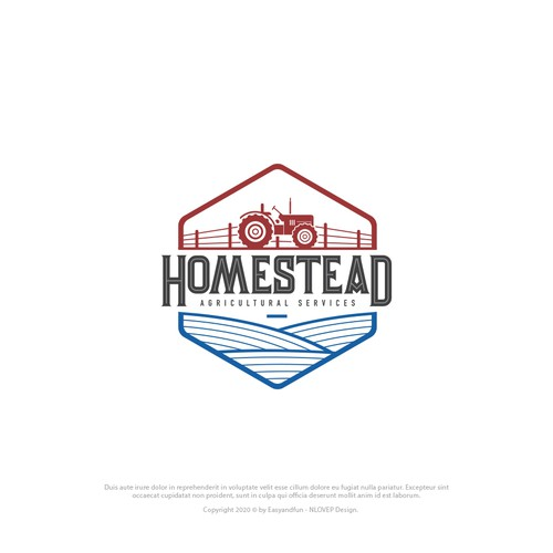 Logo Concept to Homstead