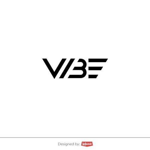 Vibe - typographic logo