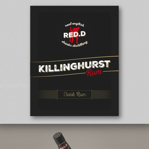 Killinghurst label design