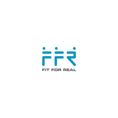Logo design for fitness coaches of podcast