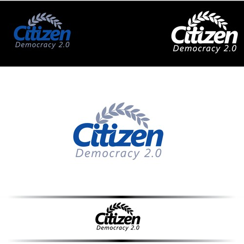 """Project: Citizen"" Logo and App Button"
