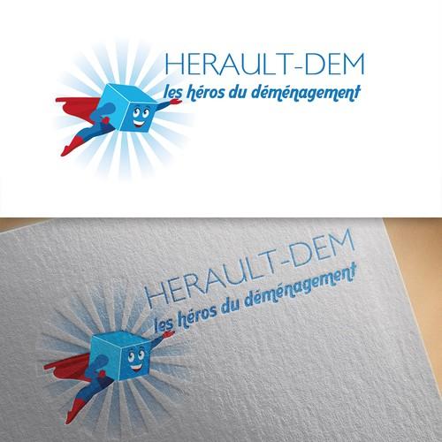 logo concept for Herault-Dem