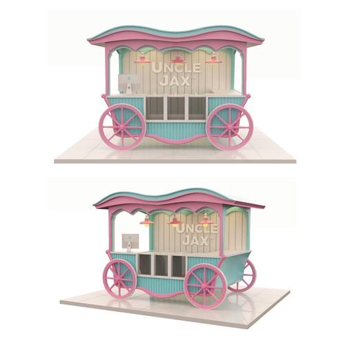 Kiosk 3D Design
