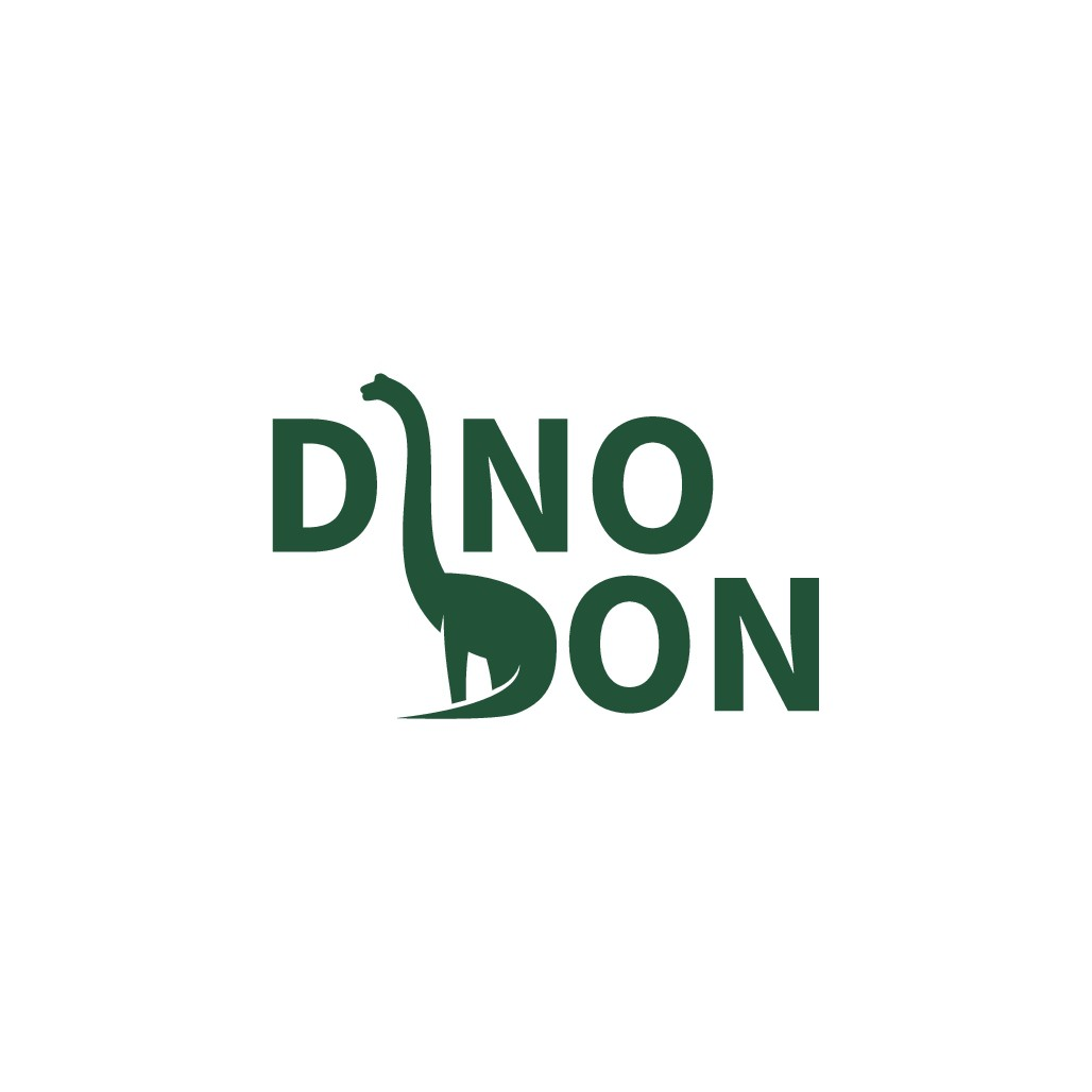 LOGO for DINO DON-seller of scientifically accurate animatronic dinosaurs to zoos and other like venues
