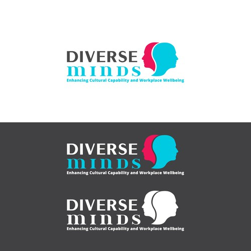 Concept logo designed for Diverse Minds