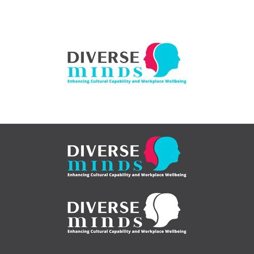 Concept logo designed for Diverse Minds