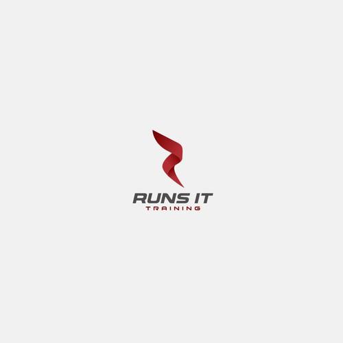 Logo for running coach