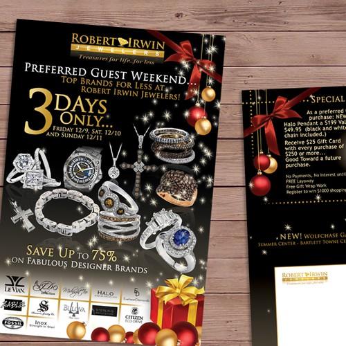 Robert Irwin Jewelers Postcard - Creativity encouraged!