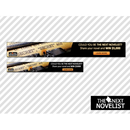 Help The Next Novelist with a new banner ad