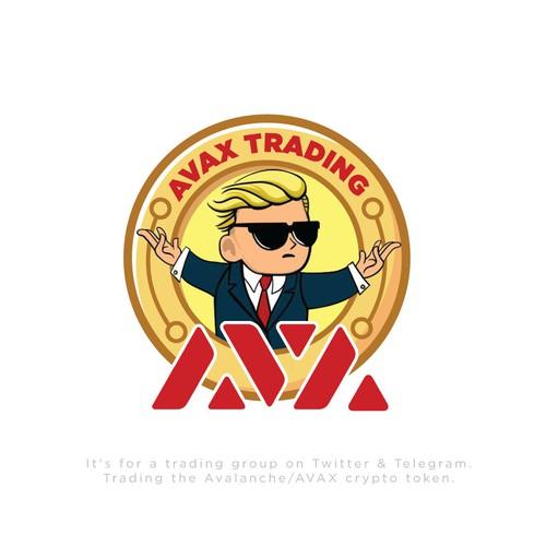 Avax Trading Logo