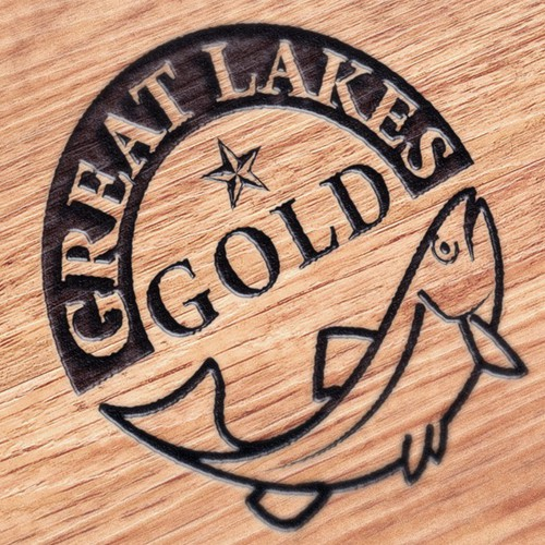 Logo for Great Lakes Gold - smoked fish products