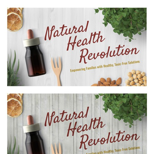 Natural Health Revolution needs a new Header