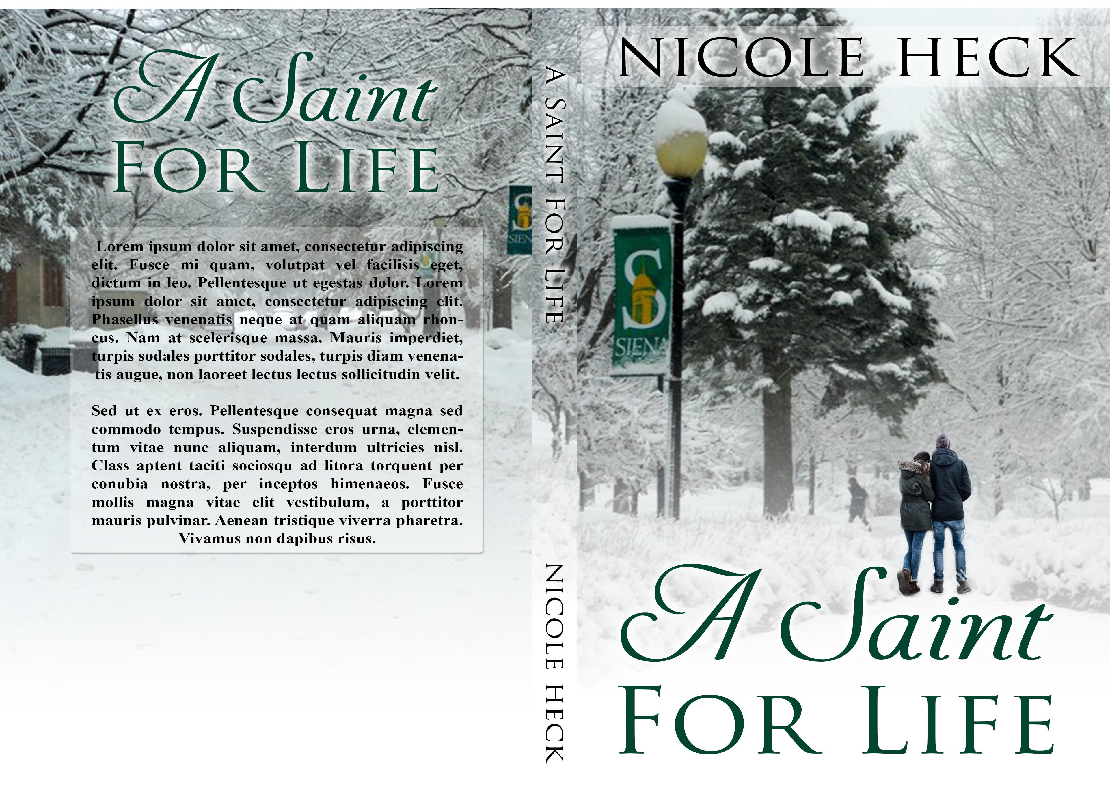 Design a book cover for a romance novel!