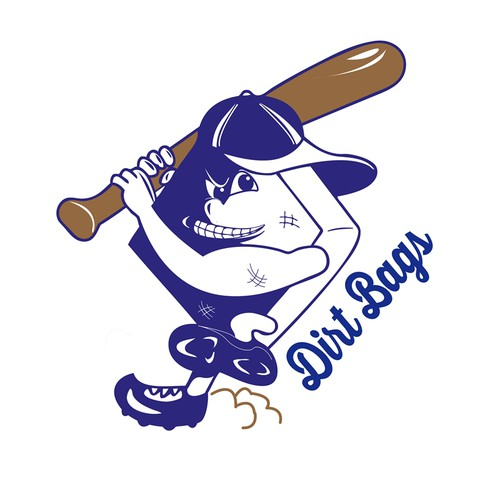 Create a mascot for Dirt Bags Softball Team