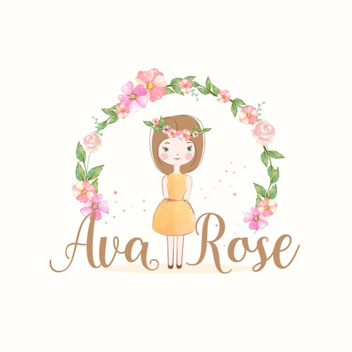 Cute and feminine logo for a store store that sells mugs