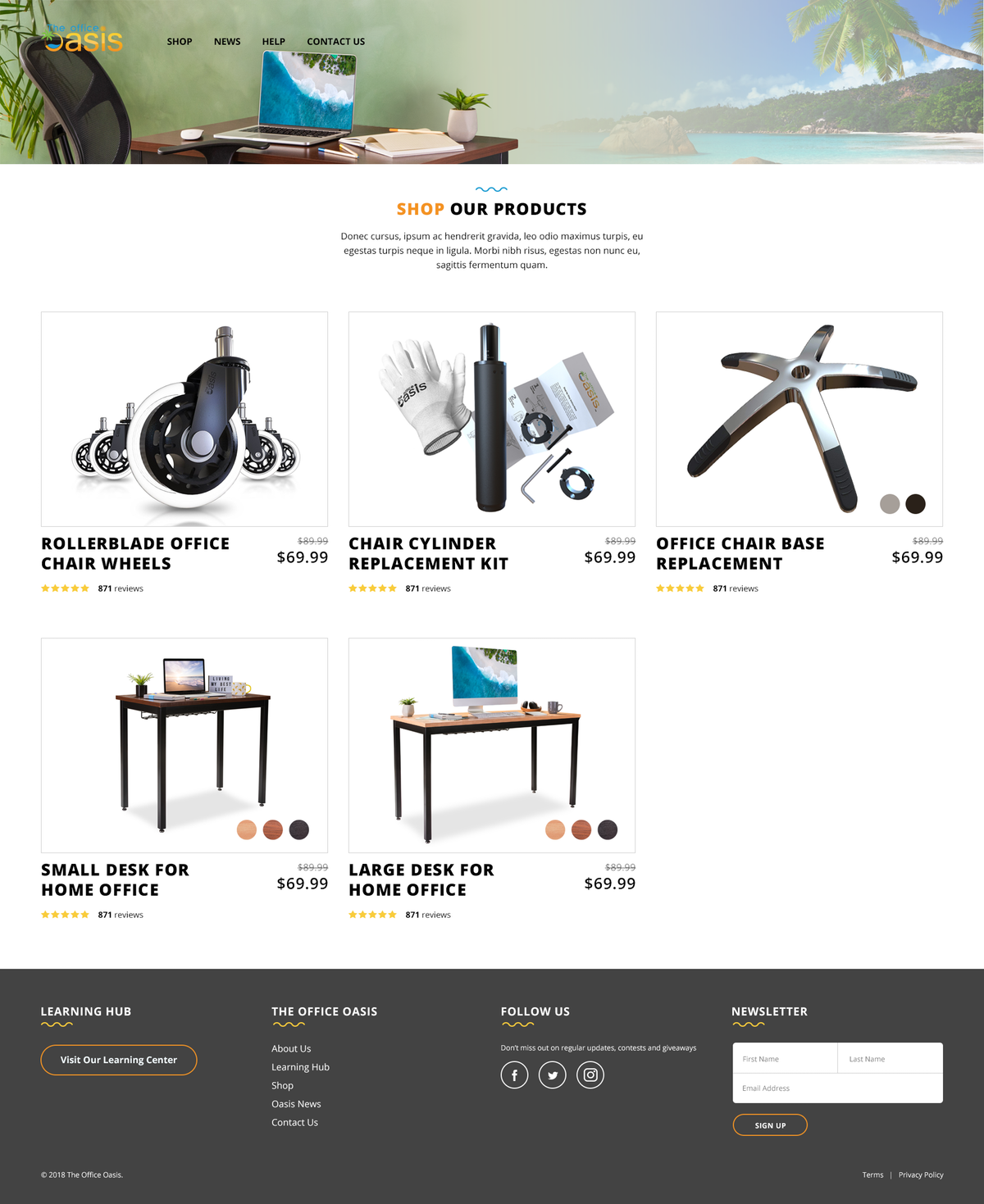 Product Detail Page Design
