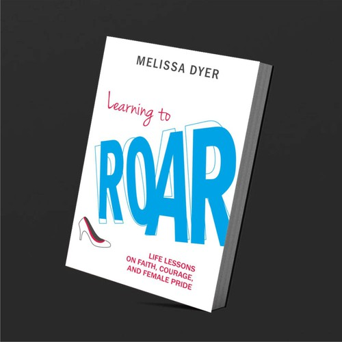 Book Cover Design for Learning to Roar