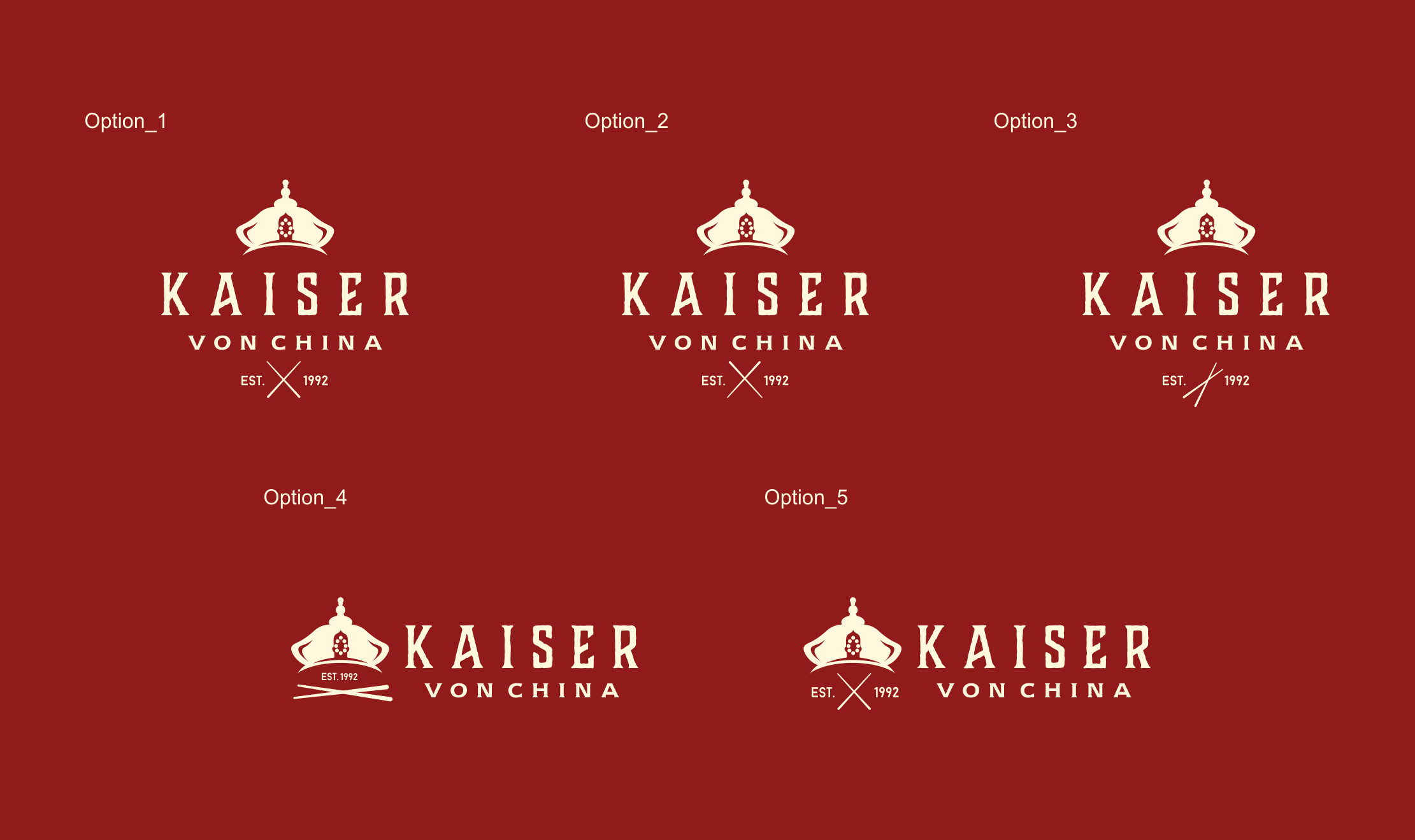 Create a unique logo for a modern buffet restaurant in luxurious and solid style