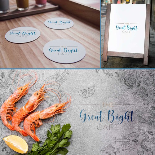 Logo for coast restaurant.